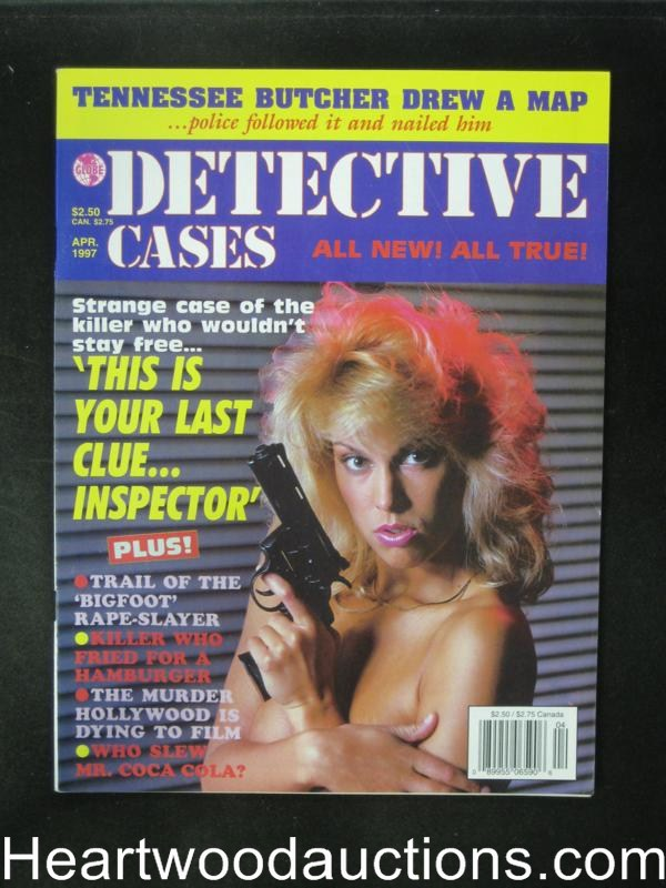 Detective Cases Apr 1997 Bad Girl Cover- High Grade