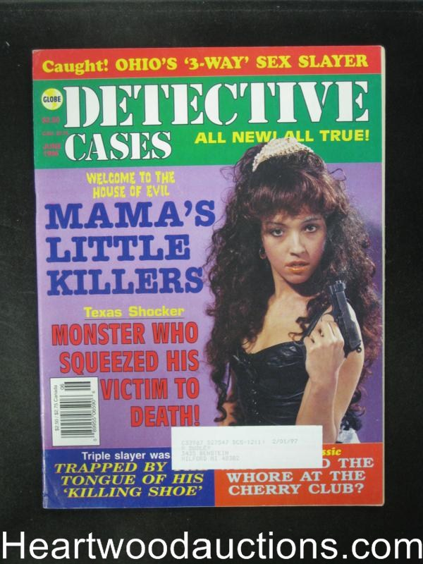 Detective Cases Jun 1996 Bad Girl Cover- High Grade