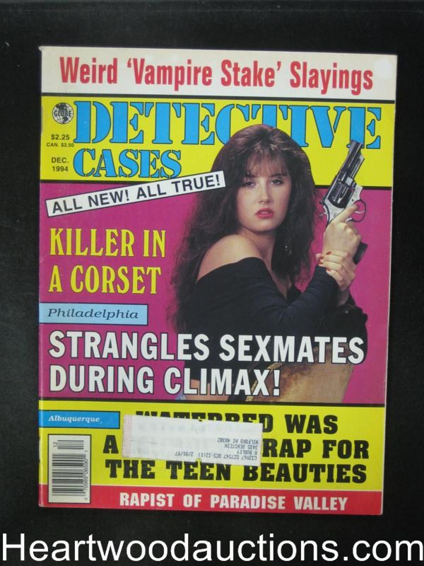 Detective Cases Dec 1994 Bad Girl Cover- High Grade