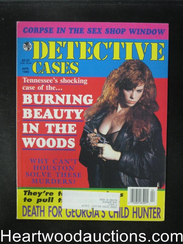 Detective Cases Apr 1995 Bad Girl Cover- High Grade