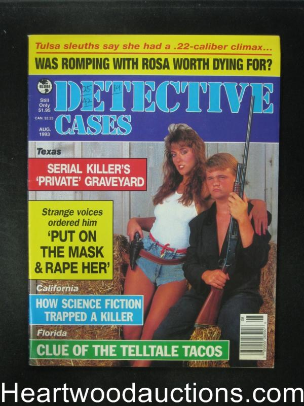 Detective Cases Aug 1993 Bad Girl Cover