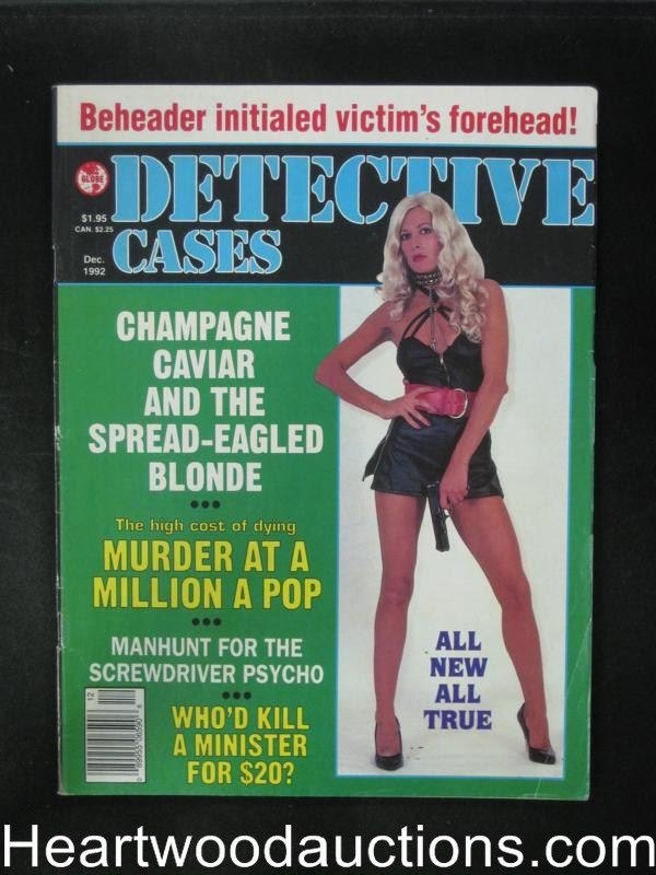 Detective Cases Dec 1992 Bad Girl Cover