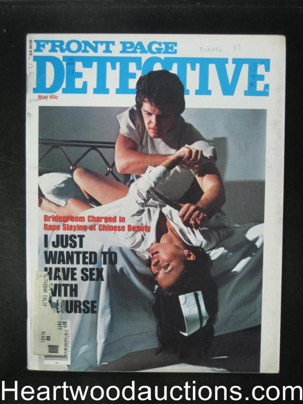 Front Page Detective May 1977 Assualt Cover