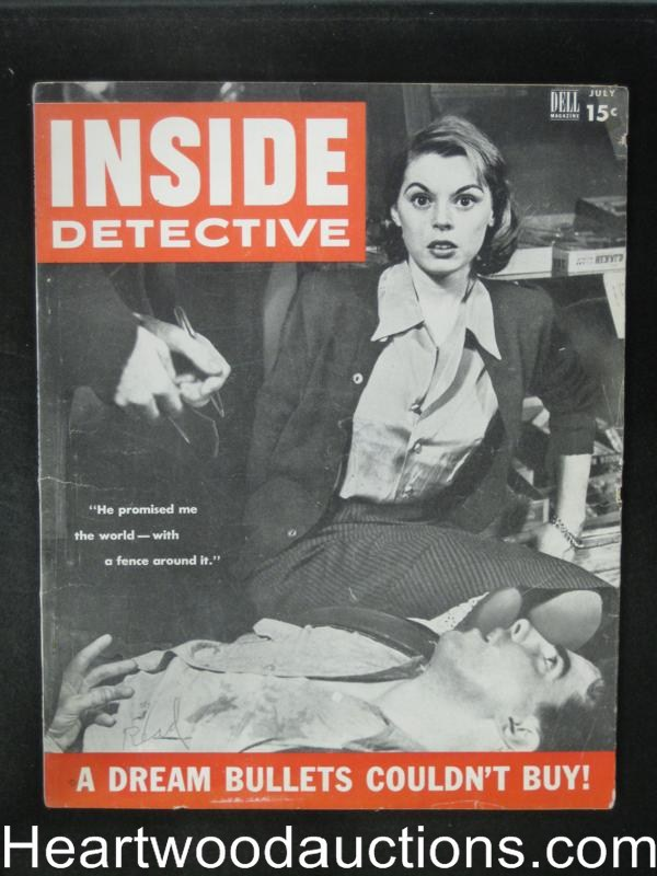 Inside Detective Jul 1953 Heroin Article