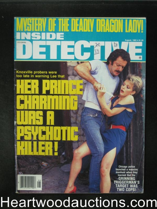 Inside Detective Aug 1983 Assault Cover