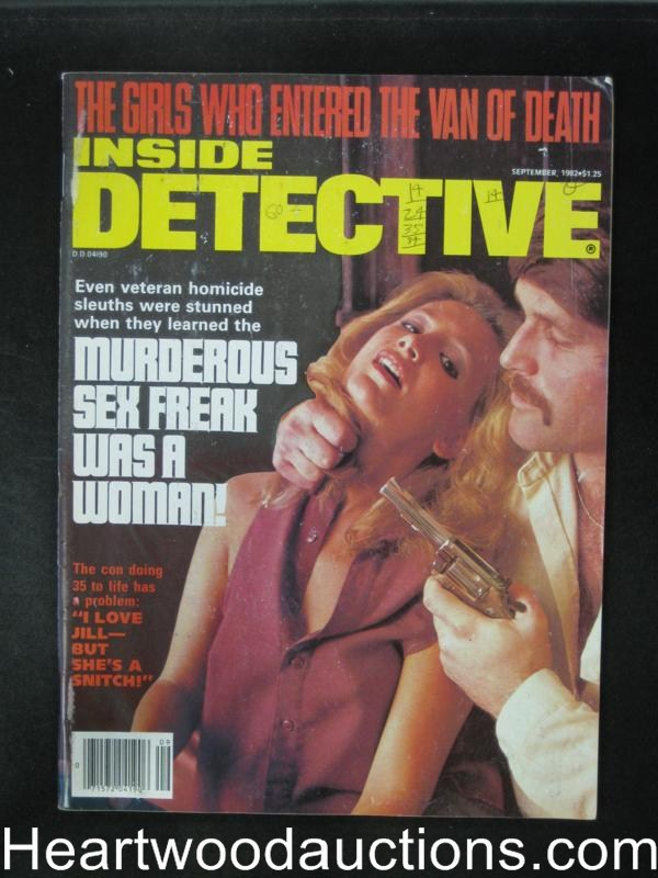Inside Detective Sep 1982 Hostage Cover