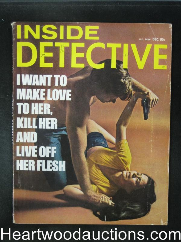 Inside Detective Dec 1972 Assault Cover