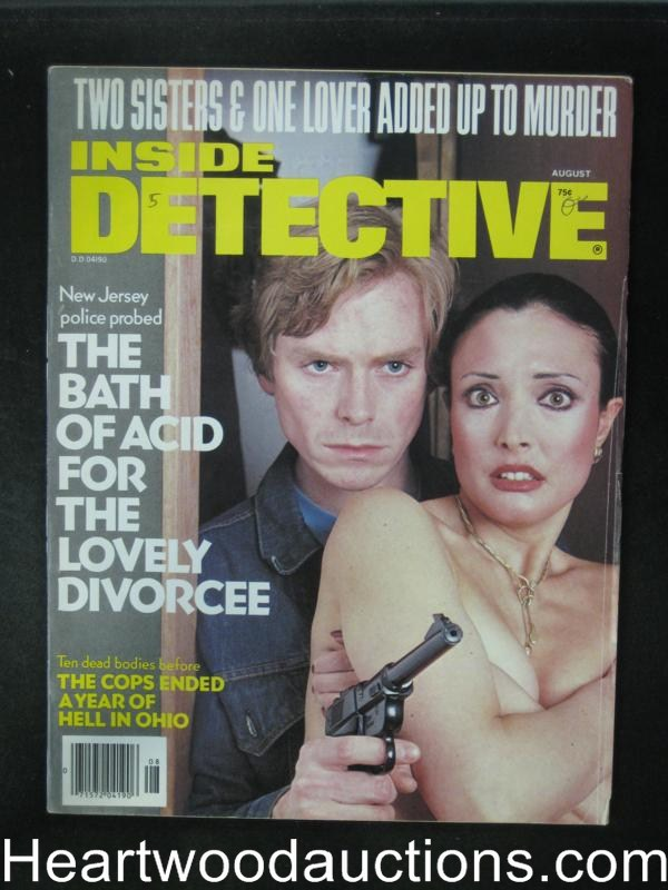 Inside Detective Aug 1979 Hostage Cover