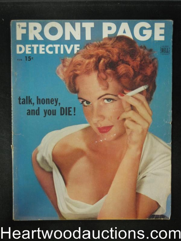 Front Page Detective Feb 1953 I am the Ace of Spades