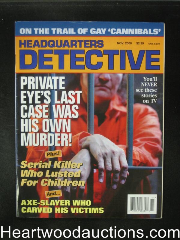 Headquarters Detective Nov 2000