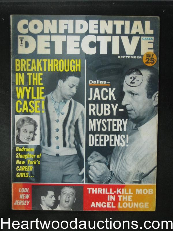 Confidential Detective Sep 1964 Jack Ruby Article