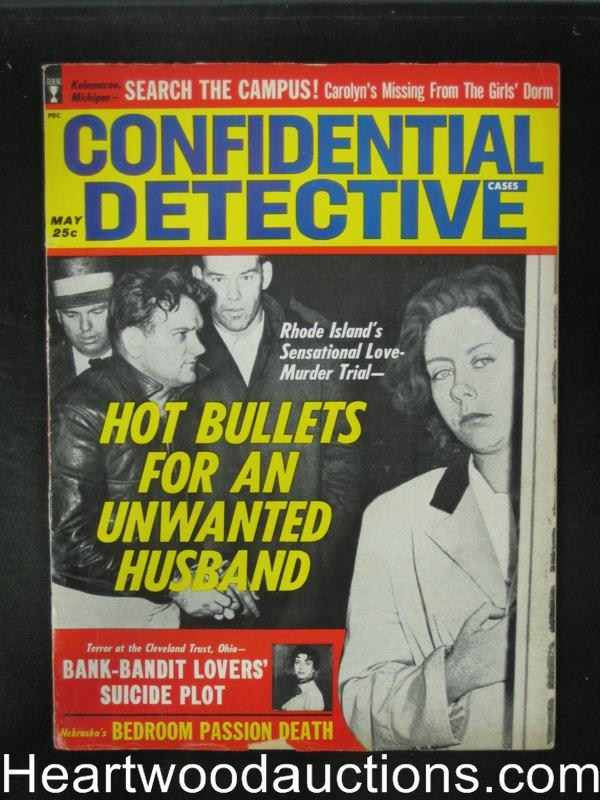 Confidential Detective May 1963 Bank Bandit