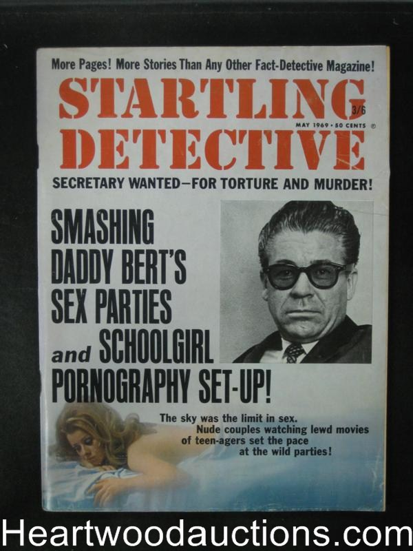 Startling Detective May 1969 The Stripper was a Strangler