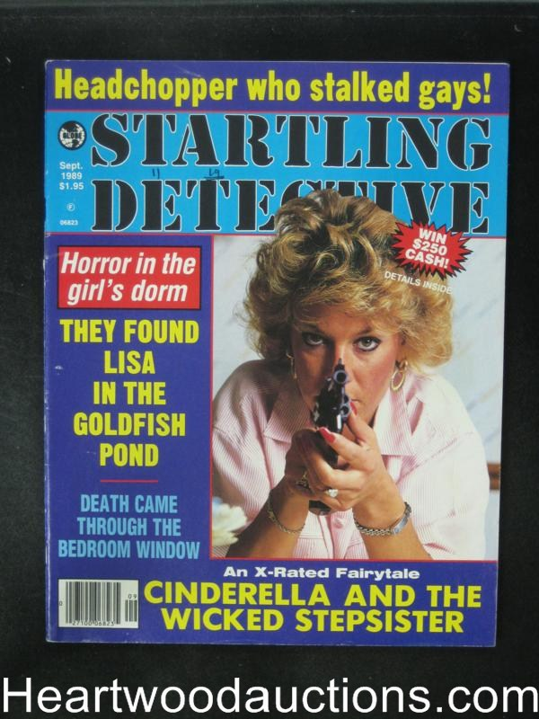 Startling Detective Sep 1989 Bad Girl Cover- High Grade