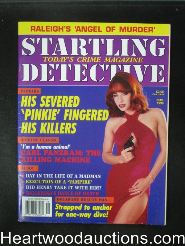 Startling Detective Nov 1999 Bad Girl Cover