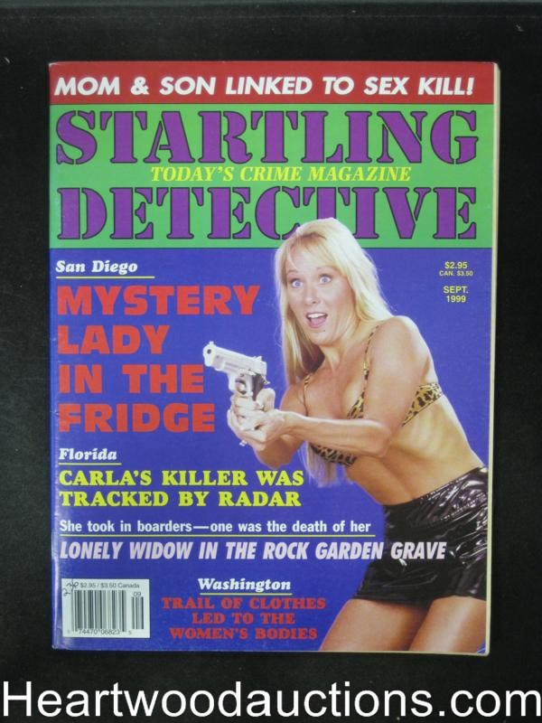 Startling Detective Sep 1999 Bad Girl Cover- High Grade