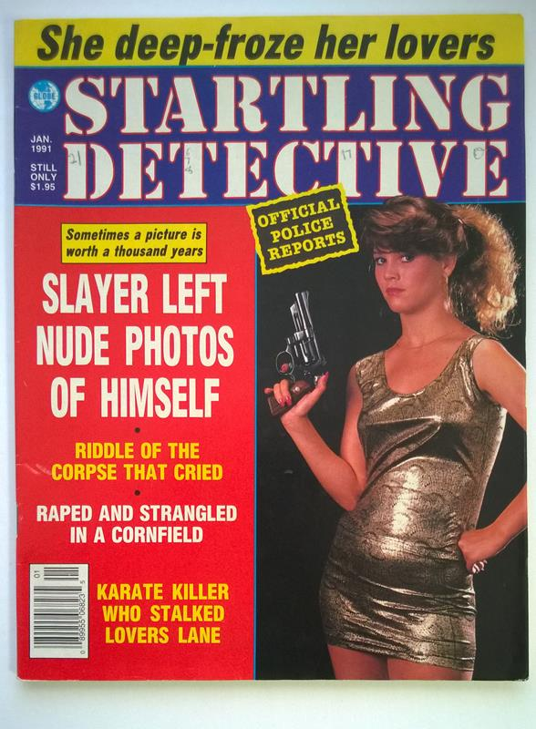 Startling Detective Jan 1991 Bad Girl Cover - High Grade