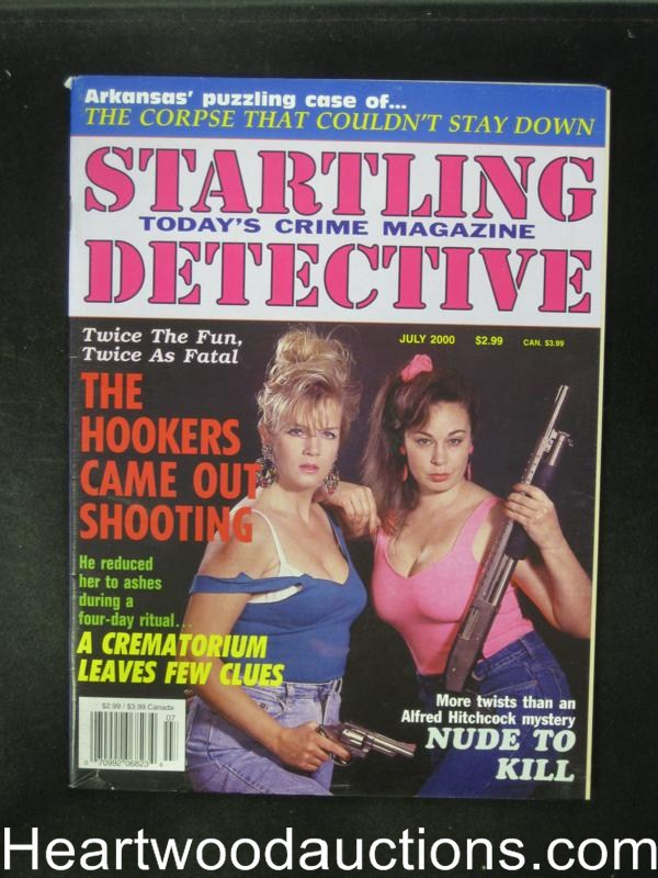 Startling Detective Jul 2000 Bad Girl Cover- High Grade
