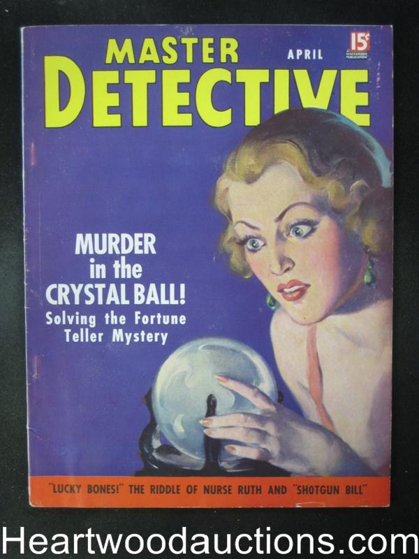 Master Detective April 1937   Ray Hamilton- High Grade
