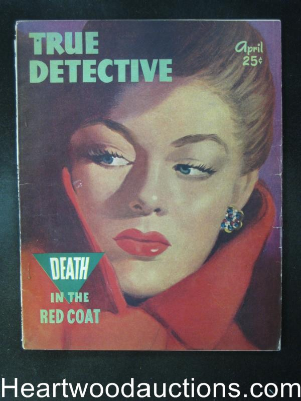 True Detective April 1948  Chicago Arson Conspiracy