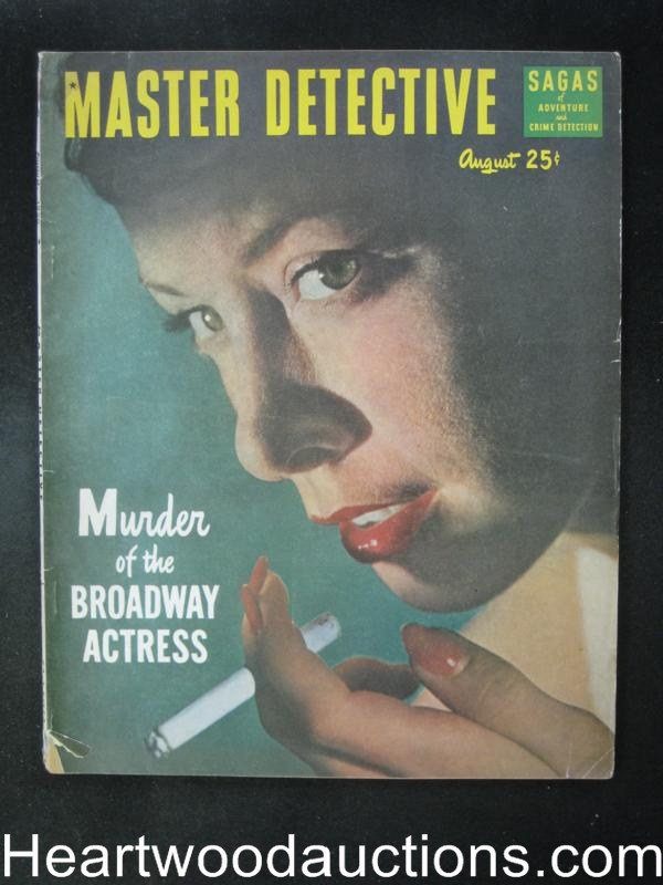 Master Detective August 1950  Girl Decoy
