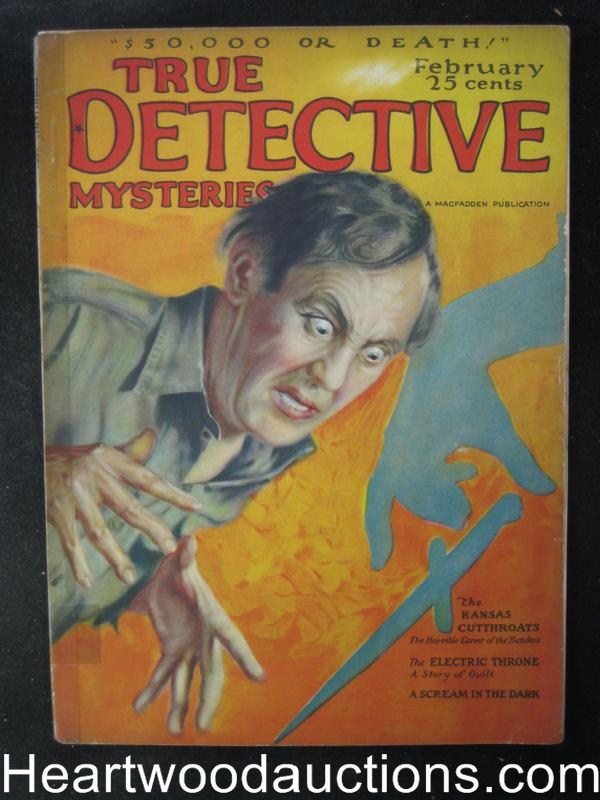 True Detective Mysteries February 1925  The Hunchback of the Seine