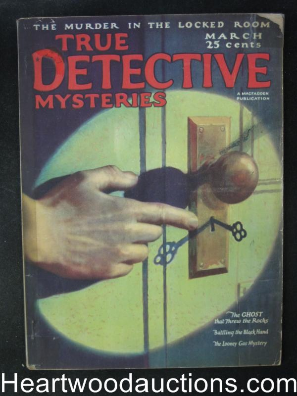 True Detective Mysteries March 1925  Battling the Black Hand