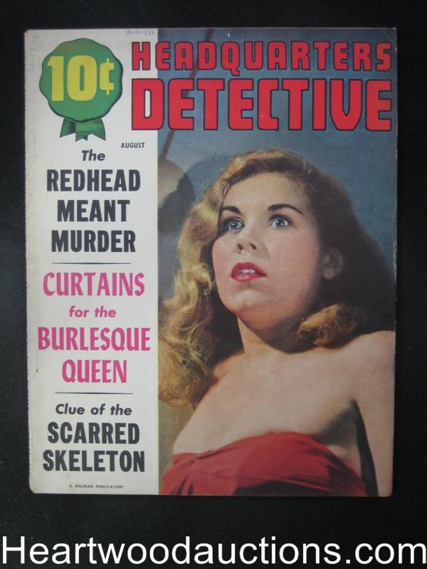 Headquarters Detective Aug 1951  Bordello Bandit