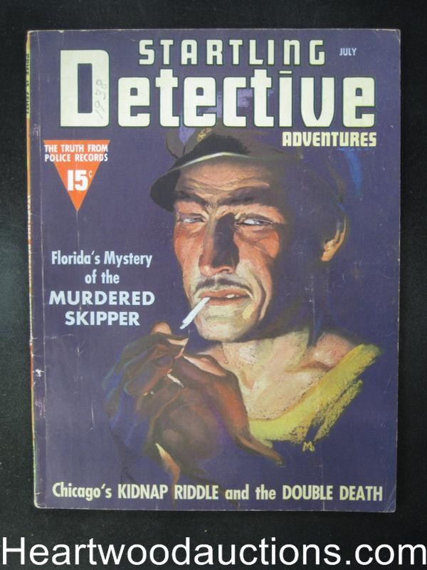 Startling Detective Jul 1938  Florida's Murdered Skipper