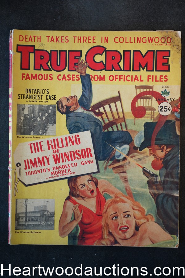 True Crime Jan 1943 Killing of Jimmy Windsor