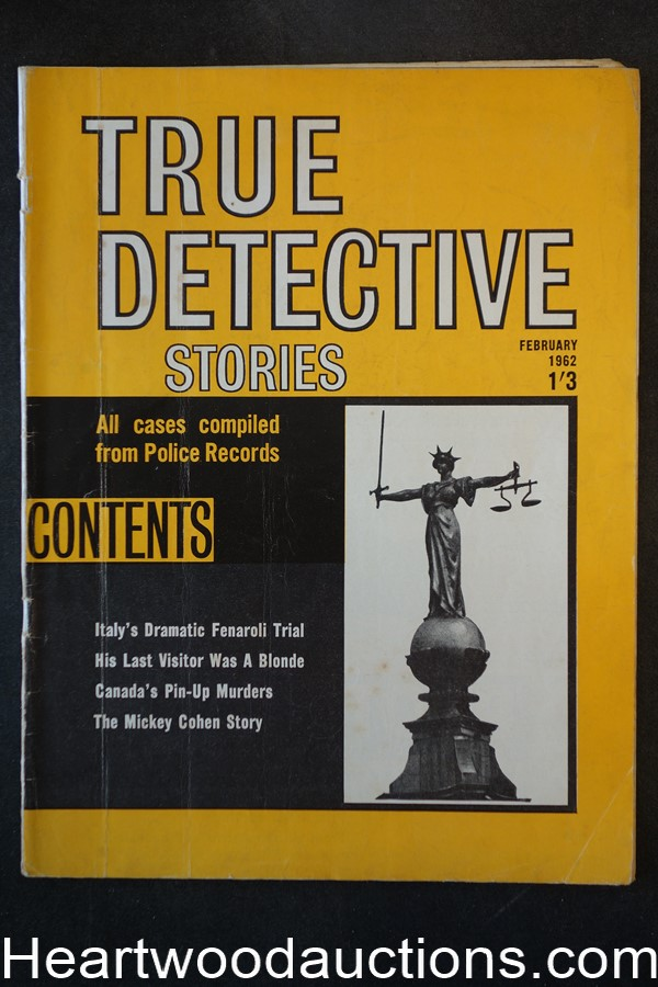 True Detective Feb 1962 Italy's Dramatic Fenaroli Trial