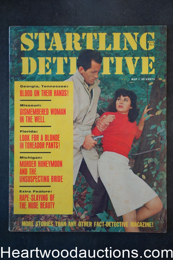 Startling Detective May 1965 Assault Cover