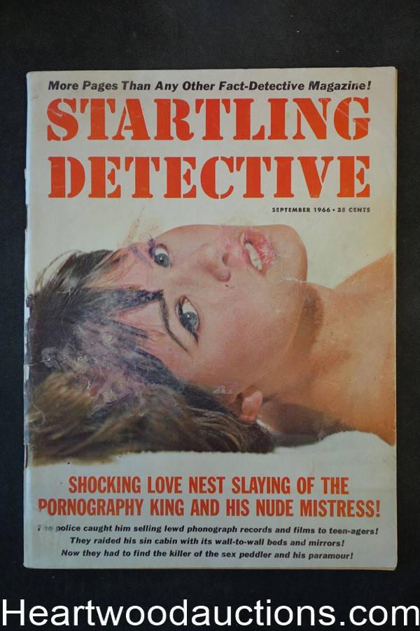 Startling Detective Sep 1966  Sex Murder of the Choir Girl