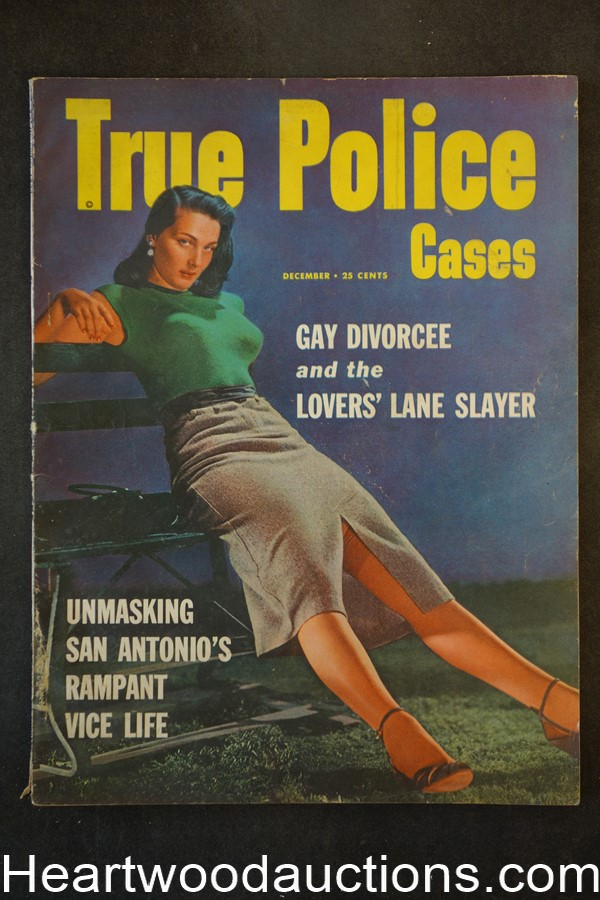 True Police Cases Dec 1953 GGA Cover