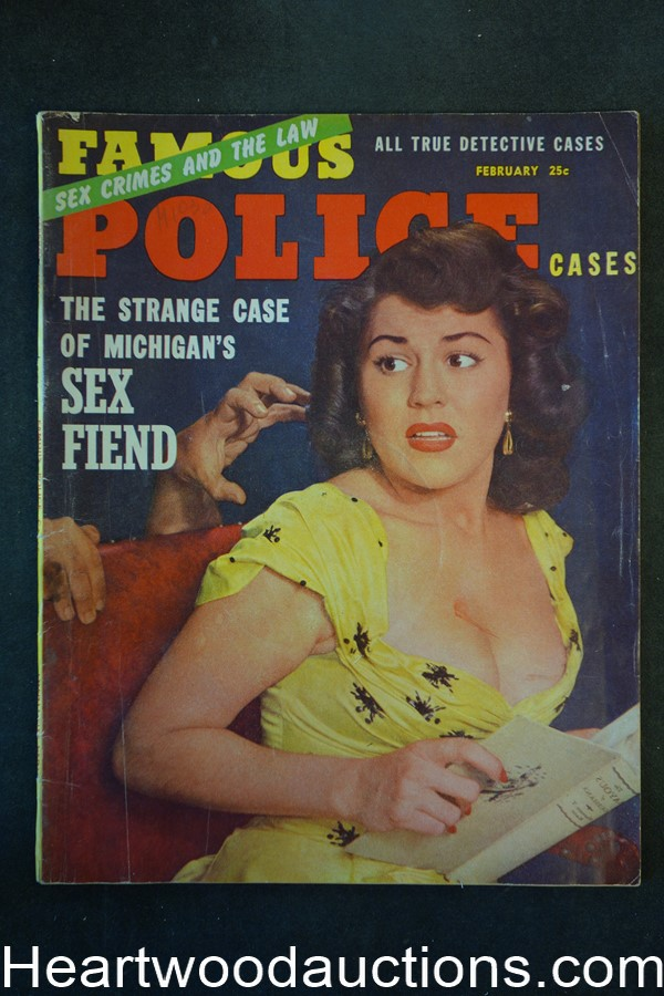 Famous Police Cases Feb 1954 The Poison Pen