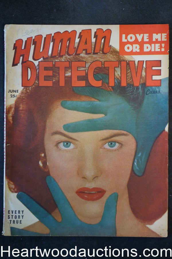 Human Detective Jun 1947 GGA Cover