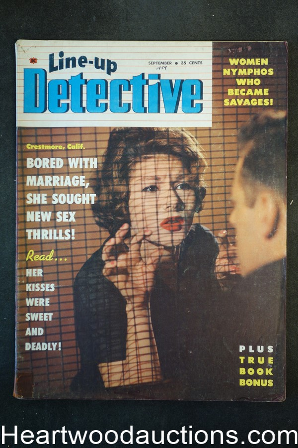 Line Up Detective Sep 1959 A Murder In Paradise