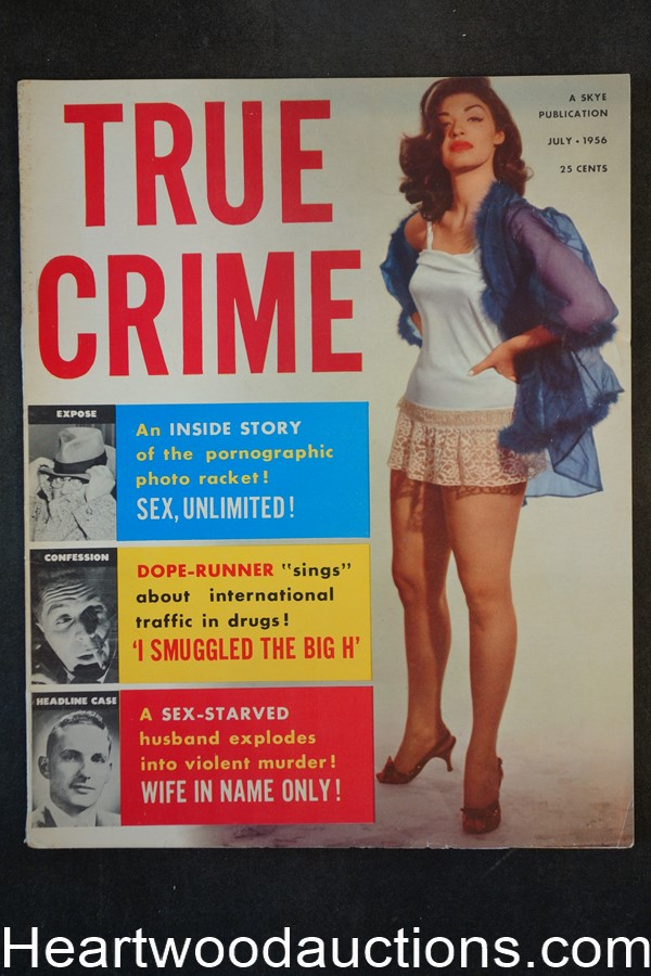 True Crime Jul 1956 GGA Cover