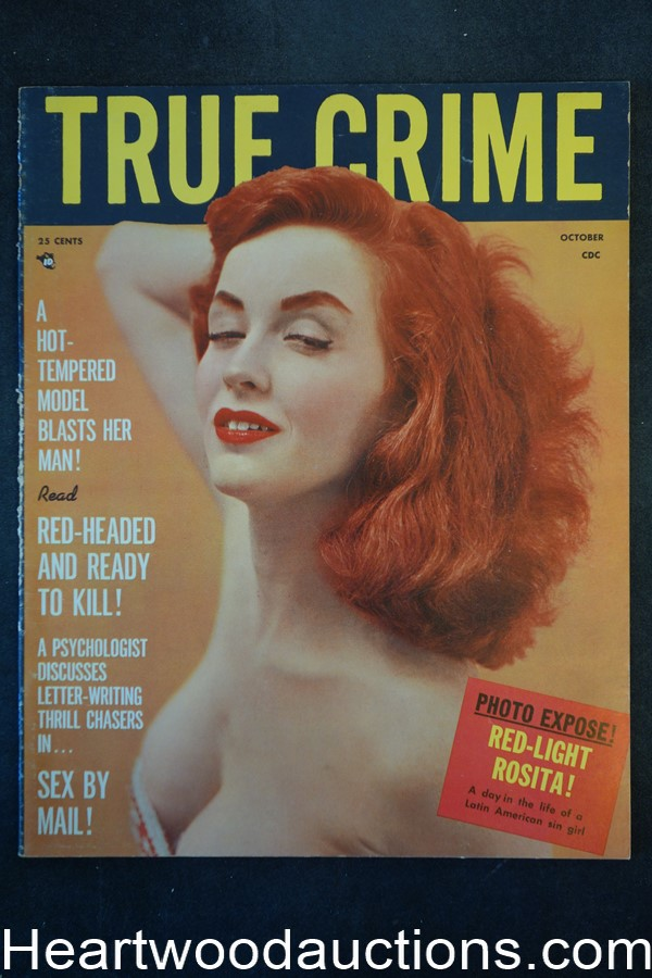 True Crime Oct 1957 GGA Cover