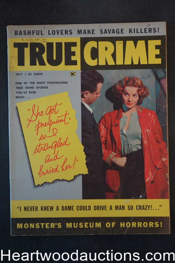 True Crime Jul 1960 GGA Cover