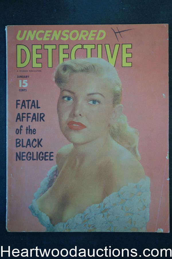 Uncensored Detective Jan 1953 GGA Cover