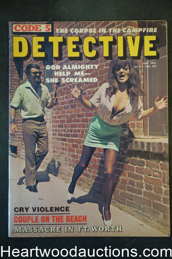 Code 5 Detective Jun 1973 Assault cover
