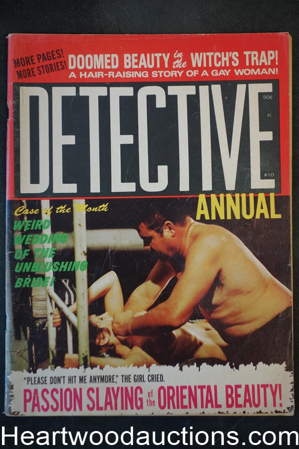 Detective Annual Oct 1970 Assault Cover