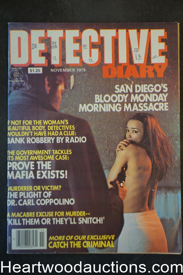 Detective Diary Nov 1979 Assault Cover, The Plight of Dr. Carl Coppolino