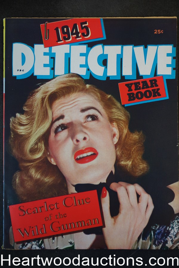 Detective Yearbook Annual 1945 - High Grade