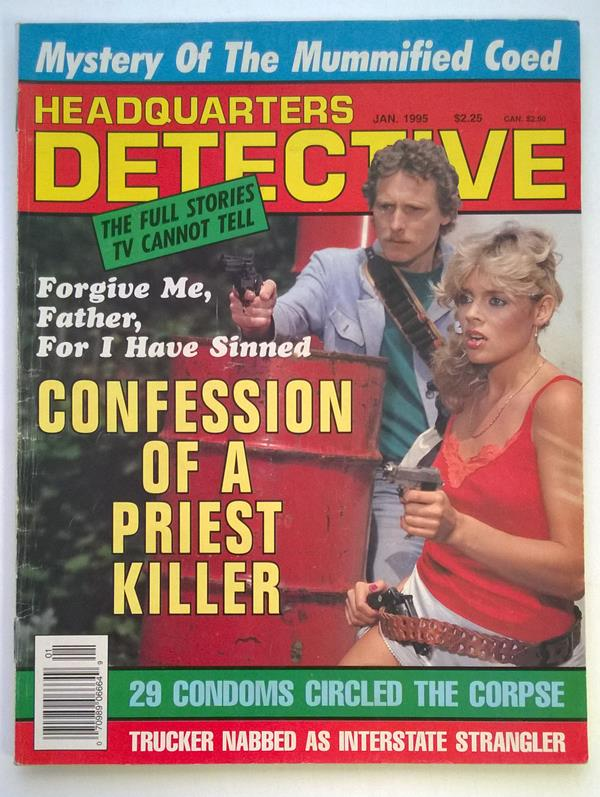 Headquarters Detective Jan 1995 Bad Girl Cover
