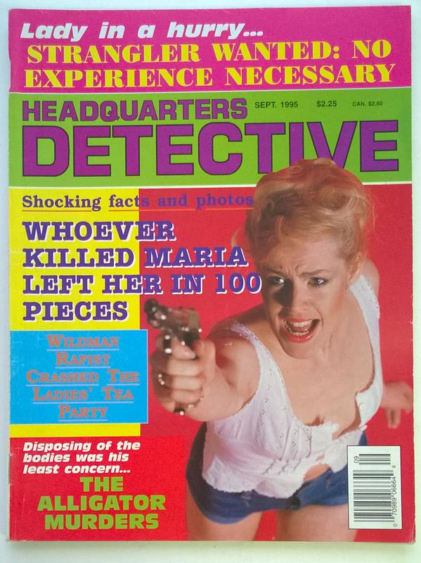 Headquarters Detective Sep 1995 Bad Girl Cover