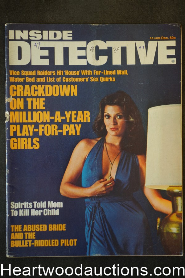 Inside Detective Dec 1975 GGA Cover