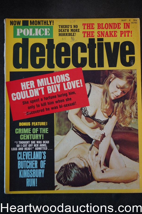 Police Detective May 1971 Bad Girl Cover