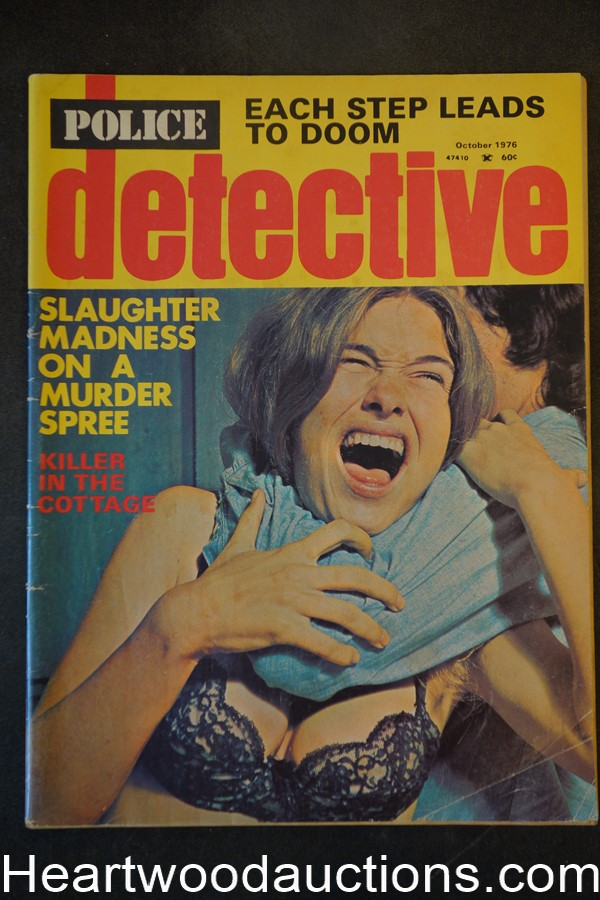 Police Detective Oct 1976 Assault Cover